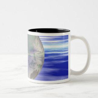3D Globe 3 Coffee Mug