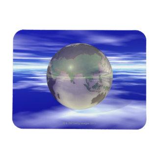 3D Globe 3 Magnets