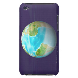 3D Globe 4 iPod Touch Case-Mate Case