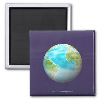 3D Globe 4 Fridge Magnet