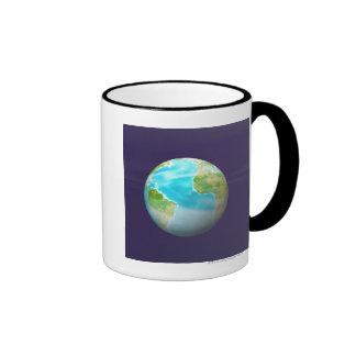 3D Globe 4 Coffee Mug