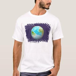 3D Globe 4 T-Shirt