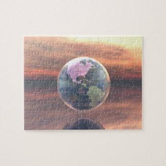 3D Globe 5 Jigsaw Puzzle