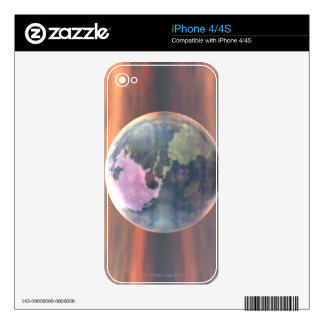 3D Globe 5 Skins For The iPhone 4