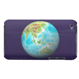 3D Globe 6 Barely There iPod Cover