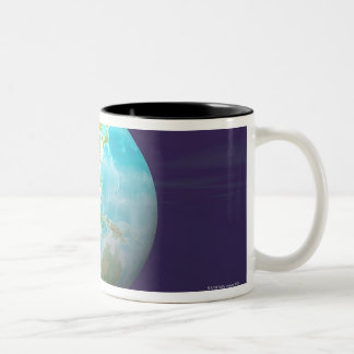 3D Globe 6 Coffee Mugs
