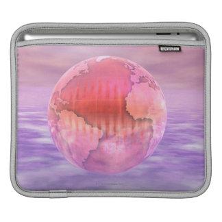 3D Globe 8 Sleeve For iPads