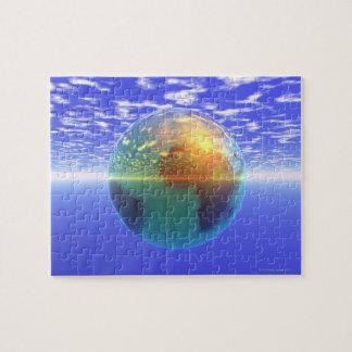 3D Globe 9 Jigsaw Puzzle