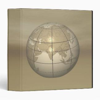 3D Globe Binder