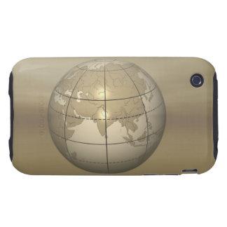 3D Globe Tough iPhone 3 Cover
