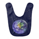 3D Globe Earth Day Bibs