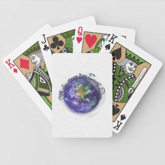 3D Globe Earth Day Card Deck
