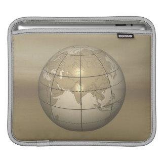 3D Globe iPad Sleeve