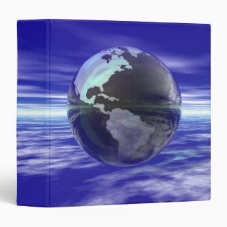 """3D globo 10 Carpeta 1 1/2"""""""