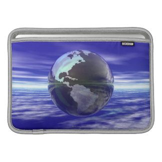 3D globo 10 Funda Para Macbook Air