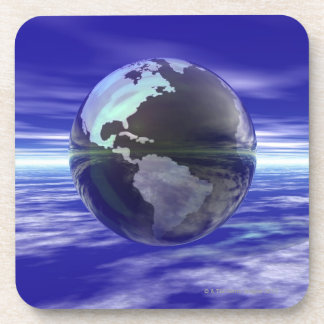 3D globo 10 Posavasos De Bebidas