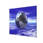 3D globo 11 Lienzo Envuelto Para Galerias