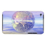 3D globo 13 Barely There iPod Protectores