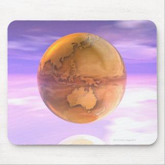 3D globo 14 Tapetes De Ratón