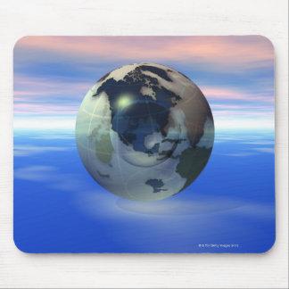3D globo 15 Tapete De Ratón