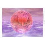 3D globo 16 Felicitación