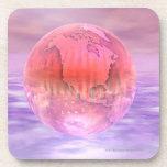 3D globo 16 Posavasos