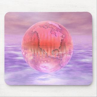 3D globo 16 Alfombrilla De Raton