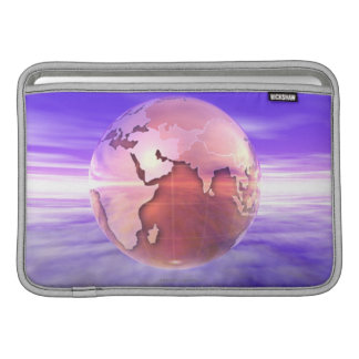3D globo 17 Fundas Para Macbook Air