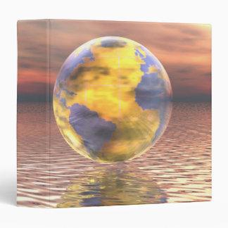 """3D globo 19 Carpeta 1 1/2"""""""