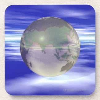 3D globo 3 Posavaso