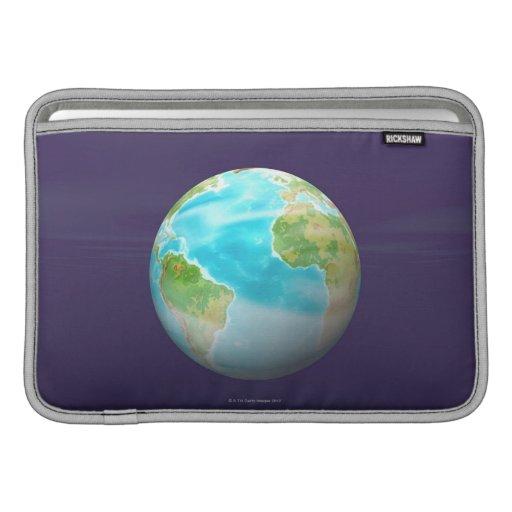 3D globo 4 Funda Macbook Air