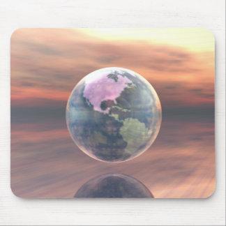 3D globo 5 Tapetes De Raton