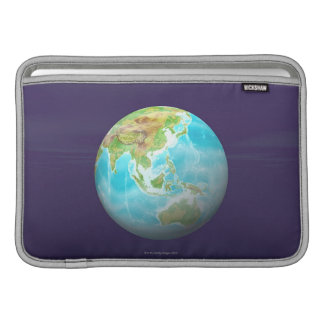 3D globo 6 Funda MacBook