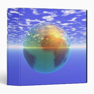 """3D globo 9 Carpeta 1 1/2"""""""