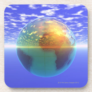 3D globo 9 Posavasos