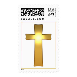 3D Gold Cross Stamps