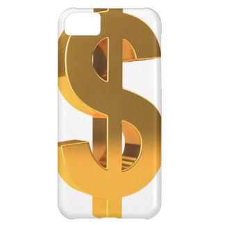 3d Gold Dollar Symbol iPhone 5C Case