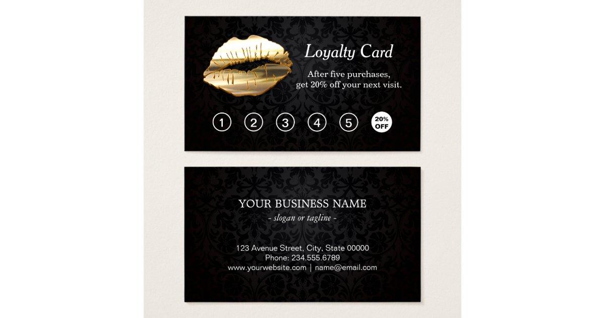Salon Loyalty Cards Design