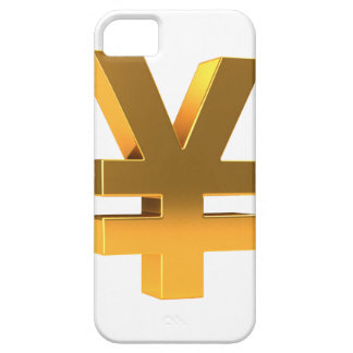 3d golden yen (Any Color U Like!) iPhone SE/5/5s Case