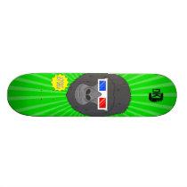 3D Gorilla Skateboard Deck