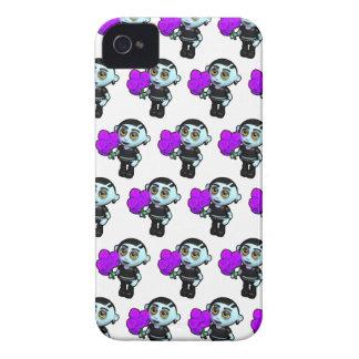 3d Goth Flowers Case-Mate iPhone 4 Case