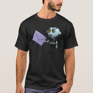 3d Goth Halloween Invitation T-Shirt
