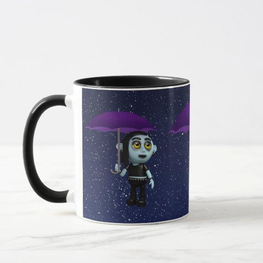 3d Goth Umbrella Mug