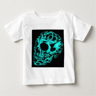 3D gothic skull Baby T-Shirt