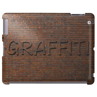 3D Graffiti Brick Wall