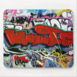 3D_Graffiti Mouse Pads