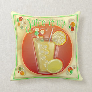 3D Graphics Party Time Sunroom Pillows