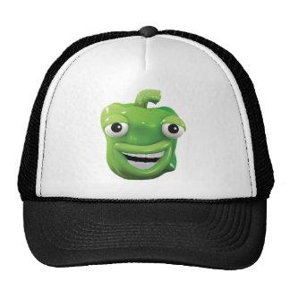 3d Green pepper laughs! Trucker Hat