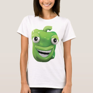 3d Green pepper laughs! T-Shirt