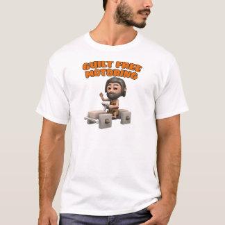 3d Guilt Free Motoring Caveman T-Shirt